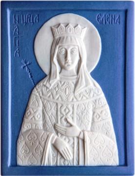 Ikona Svjataja Ravnoapostol'naja carica Elena