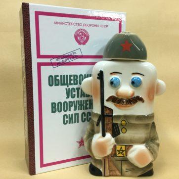 nabor-obshchevoinskie-ustavy-vs-sssr-s-flyagoj-farforovoj-strelok