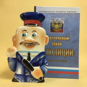 nabor-zakon-o-policii-s-flyagoj-farforovoj-policejskij